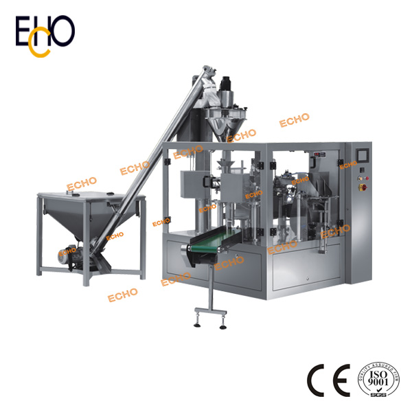 Automatic Rotary Bag Given Packing Machine for Powder Pouch