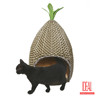 2017 new design rattan woven cat house,dog house,rattan dog house