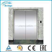 large load capacity two side open door freight elevator with CE certificate