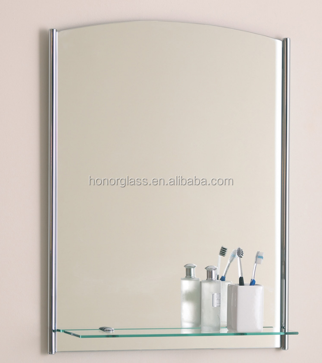 one-way two-way mirror glass sheet antique blue 3mm mirror glass