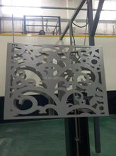 Hollow pattern perforated aluminum panel decoration building materials