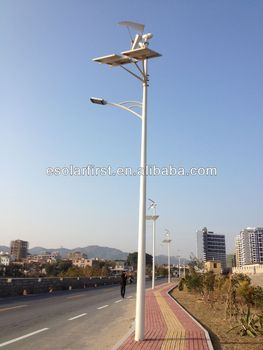 Wind and Solar LED Street Lamp
