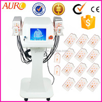 Au-64B New Products 2016 ilipo laser fat burning machine with 650nm dual wavelengths for sale