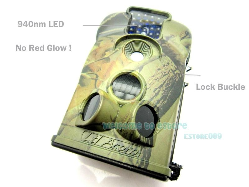 New Brand LTL 5210A 940NM Acorn Blue Led Game Hunting Scouting Trail Camera Cam