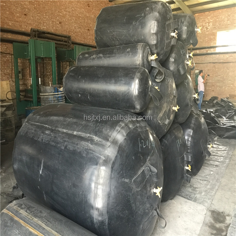inflatable & pneumatic rubber balloon for culvert making