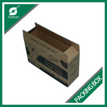 F FLUTE CORRUGATED POOP BAGS PACKAGING BOXS WATERMARK PRINT PAPER CARTONS WHOLESALE