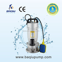 Taizhou Electric Submersible Water Pumps (QDX 15-10-0.75 1HP 0.75KW 220V/50HZ)
