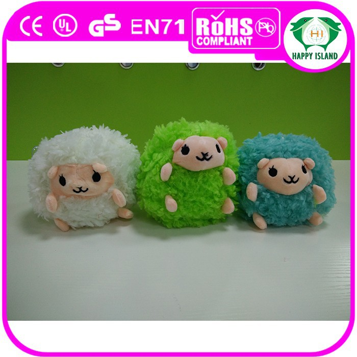 Lovely conglobate sheep toy for wholesale,plush lamb, customised toys,SGS/BV factory audit
