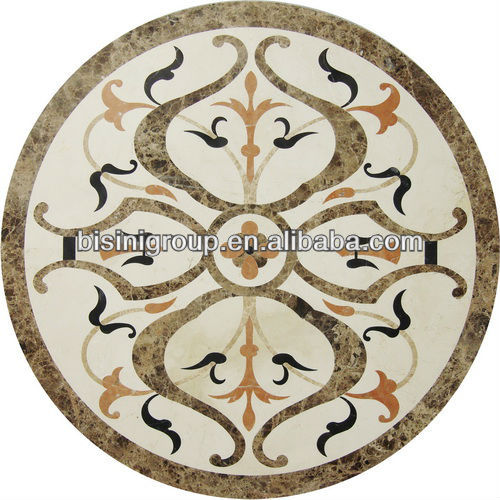 BISINI luxury water jet art, marble design for home, philippine marble