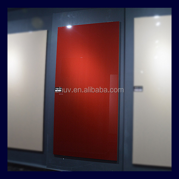 Wood grain and Solid Model High Gloss UV Board MDF Factory