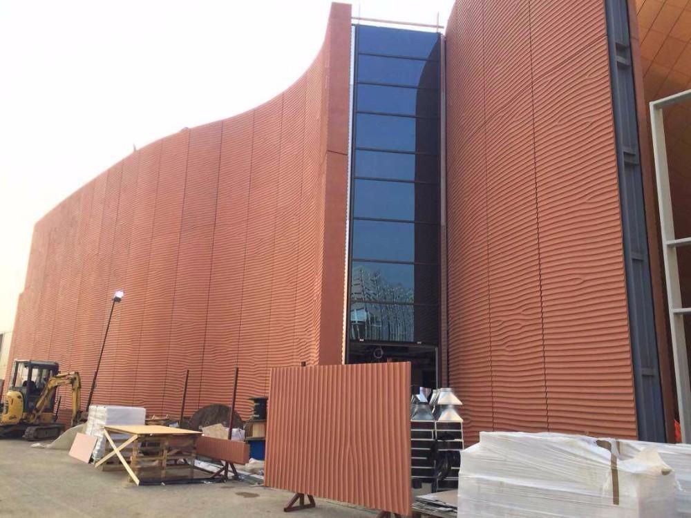 3d grc wall cladding exterior 3d concrete wall panels for Concrete exterior walls