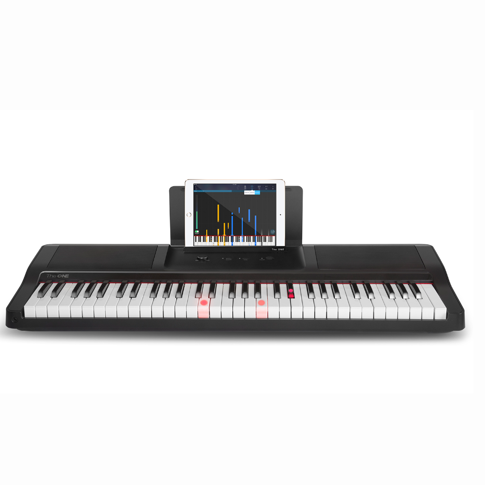 The ONE 61 keys flexible music keyboard electronic acrylic piano