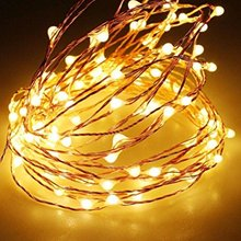 IP65 100 Lamps Copper Wire Fairy LED Lights String 8 Mode Twinkling for Christmas Lighting/Decoration
