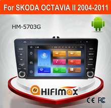 Hifimax Android 6.0 car dvd player for skoda octavia II 2004-2011 for skoda octavia car dvd gps navigation system