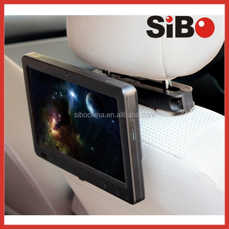 9 Inch Android Taxi Headrest Touch Screen Monitor With Advertising Software