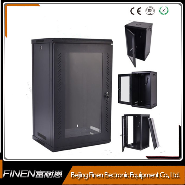 Low price 19 inch 18u spcc standard soundproof server cabinet supplier