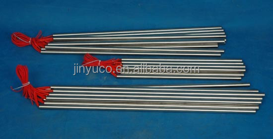 electrical single ended cartridge heating element