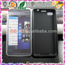 online cover for BlackBerry aristo z30,glossy jelly tpu blank case for BB A10