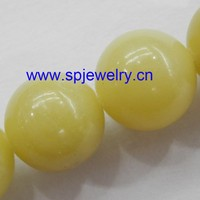 lemon jade beads, round 4-16mm,16-inch per strand