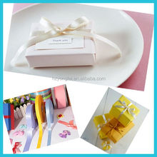 Factory Wholesale Satin Ribbon Tie For Gift Boxes