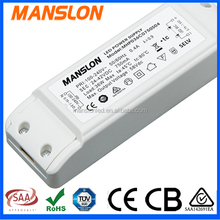 36w led driver 700ma dimmable 0-10v waterproof