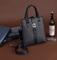 Wholesale Stylish Men PVC Shoulder Business Briefcase Tote Bag