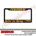 American license plate frames with high quality
