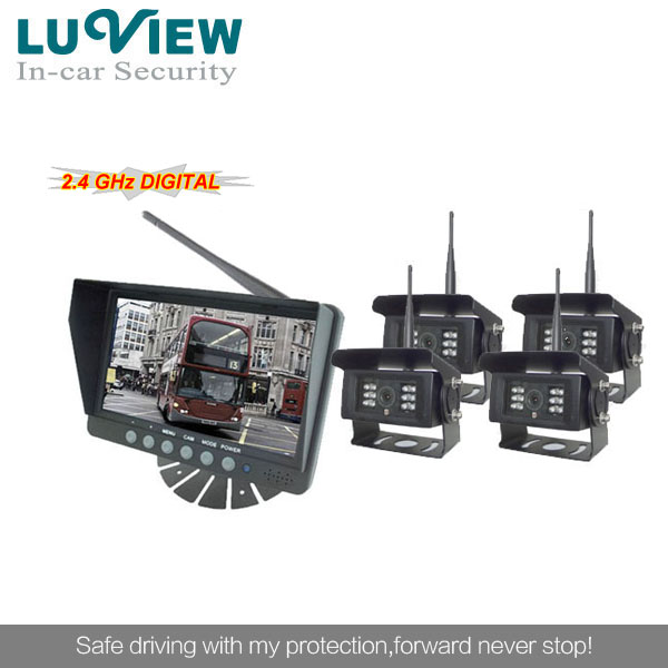 vehicle wireless camera system for forklift