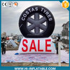 Outdoor advertising custom made giant inflatable tire model for sale