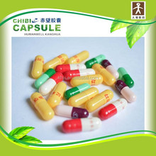size 00, 0, 1, 2, 3 pharma products different sizes of wholesales color vegetarian capsules