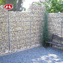 hot dipped galvanized/pvc coated/galfan filling rock hexagonal gence slope briges gabion basket protective terra wire mesh