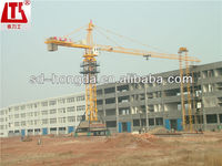 China QTZ80A Hydraulic climbing system Tower Crane for sell with CCC CE ISO9001 Certifications