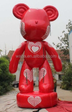 Valentine's day decoration ,Shinny PVC inflatable animal cartoon customized/MICKEY/inflatable mouse HK72