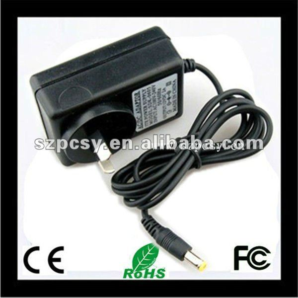 12V 1.5A wall eu plug ac adapter for 3ds