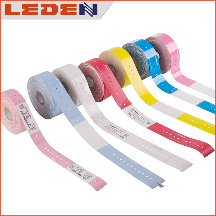Medical thermal barcode wristband for medical office printer