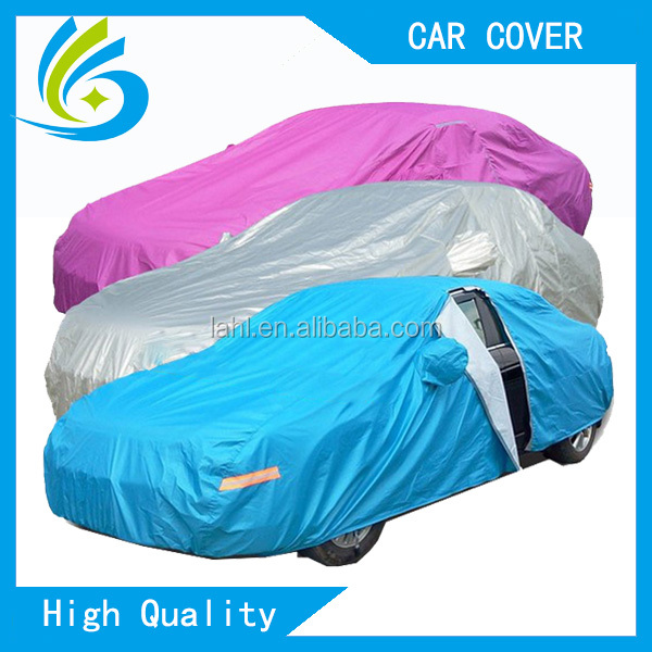 Colorful customized cheap car cover, convertible bubble car covers