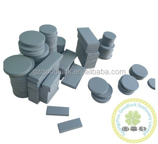 Round cutting flash foam/Pre-cut stamp sponge