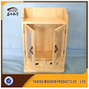 arts and crafts unfinished wood carved wooden wine box