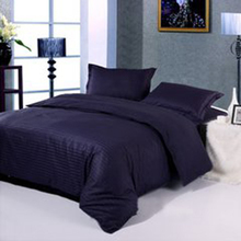 100% cotton navy blue hotel bedding set,bedding sheet fabric