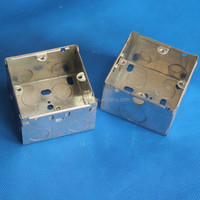 electrical galvanized junction metal box Sheet Metal Junction Box