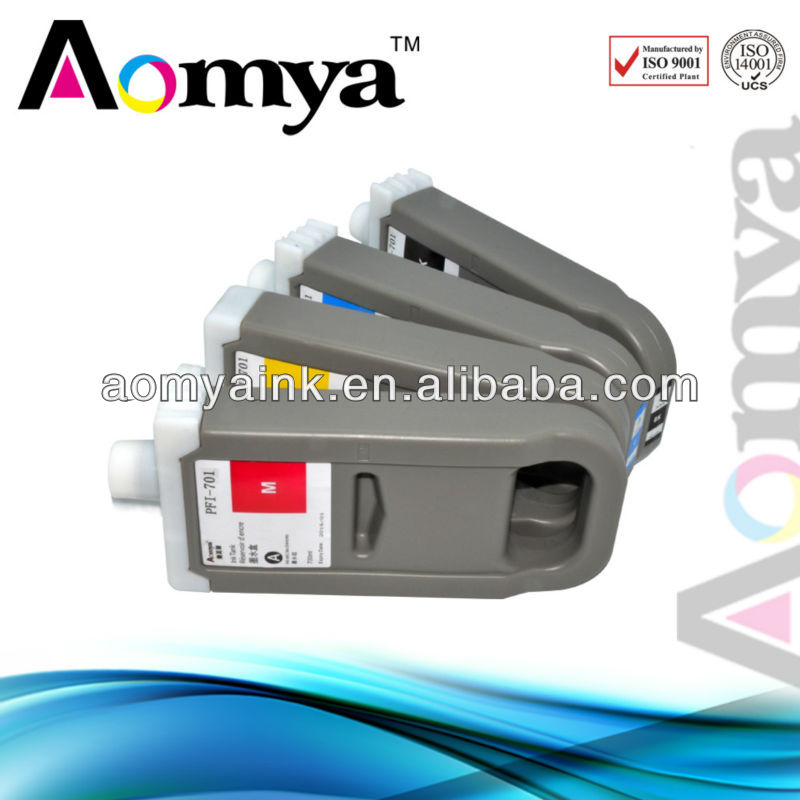 Zhuhai Aomya PFI 701 +PFI 702 large format printing cheap ink cartridge compatible cartridge for Canon iPF 9100