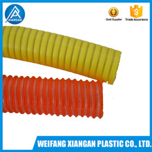 High quality pvc suction hose for industrial vacuum cleaner