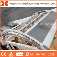 Most Lovely Design retractable aluminum door canopy