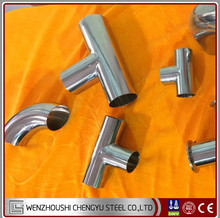 Factory Direct Sale 304/304L,316/316L,321/321H,310S Stainless Steel Sanitary Pipe Fitting