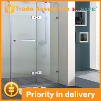 China manufacturer hinge open style shower rooms