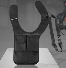 Hidden Interphone Pouch Underarm Shoulder Bag Tactical Backpack for tablet
