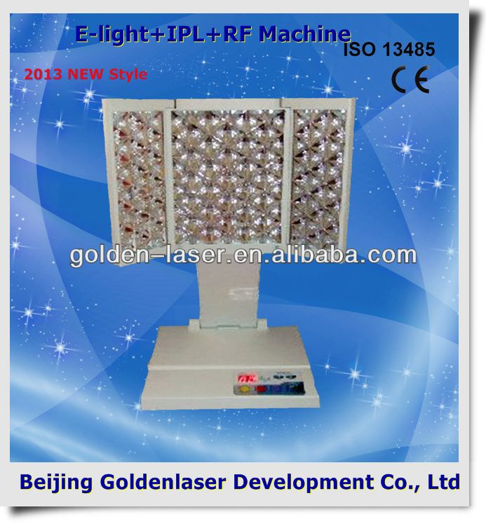 2013 New design E-light+IPL+RF machine tattooing Beauty machine cosmetology cases global hot sale!!!