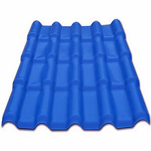 China supplier anti corrosion roof tile/Chinese PVC plasticroofing sheet/Chinese factories plastic building tile