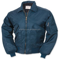 new style pure nylon military navy ma-1 flight jacket