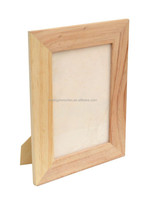 2015 china suppliers sale FSC&ISO9001&SA8000 unfinished standing pine wooden photo pictures frame for manufacturers wholesale